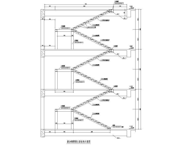 结构立面图