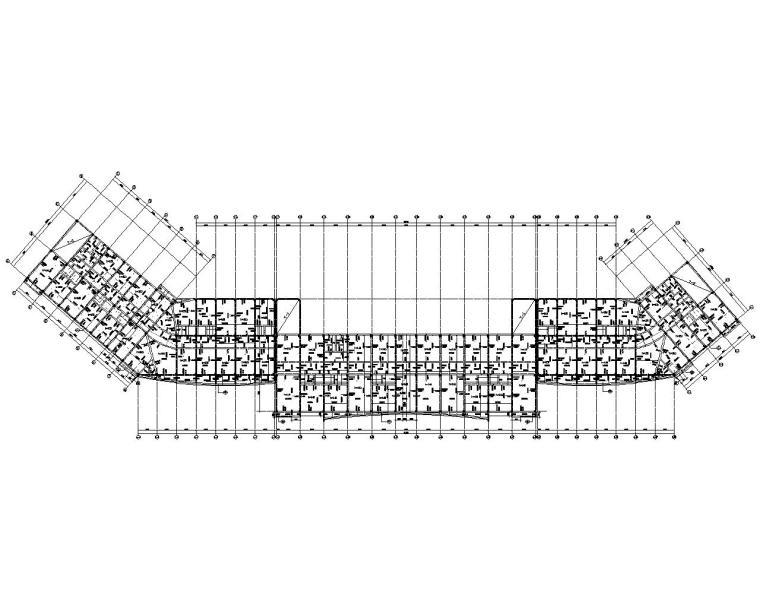 某五层商业混凝土结构施工图(CAD)