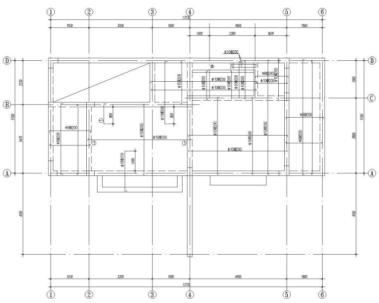 某三层海边别墅结构施工图(CAD)