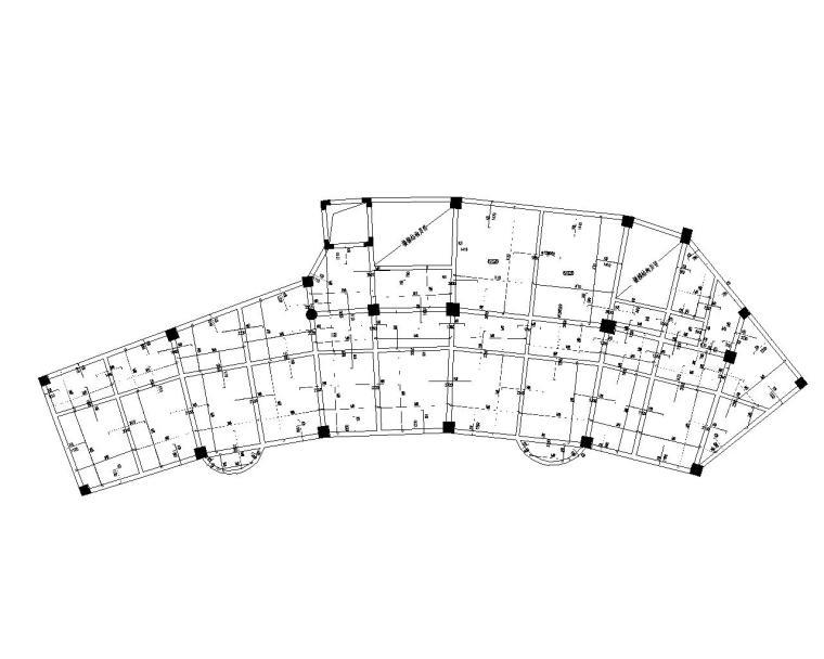 某七层办公楼混凝土结构施工图(CAD)