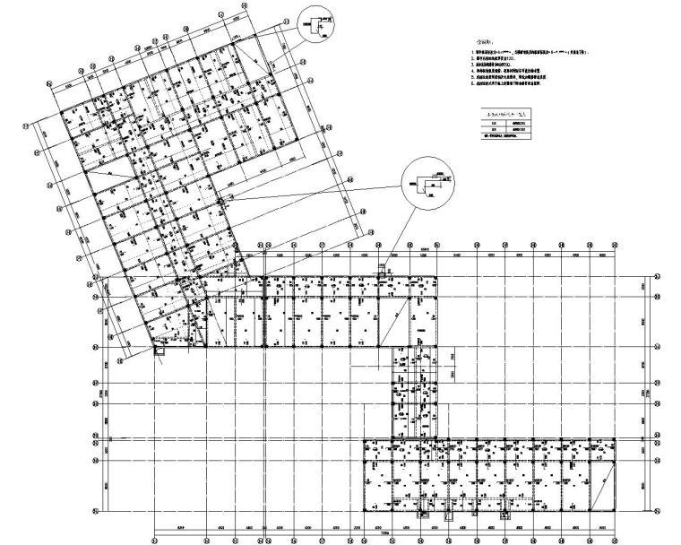 6层教学楼混凝土结构施工图(CAD)