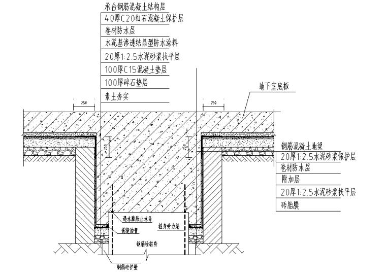 商住楼地下室防水施工方案