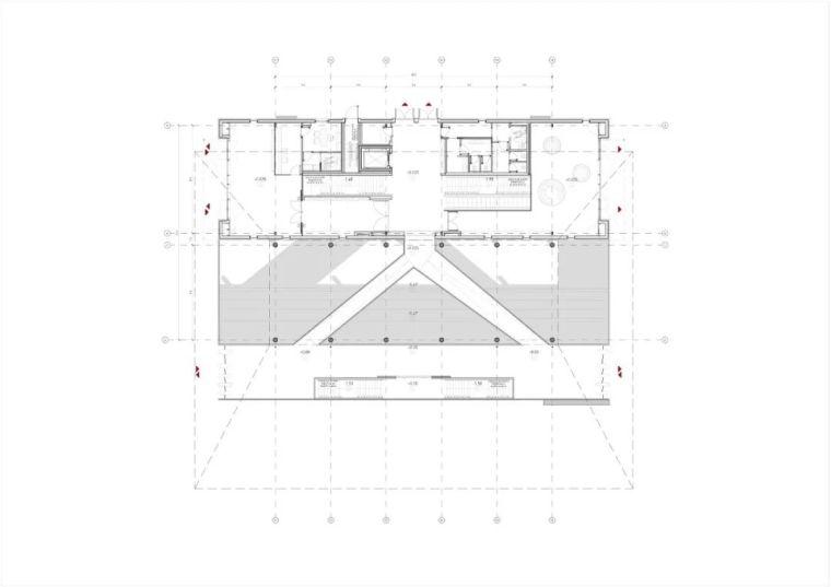 极简火车站_45x35米的金属屋顶,柱子支撑_13