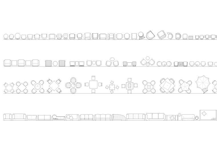 室内全套装饰CAD图块