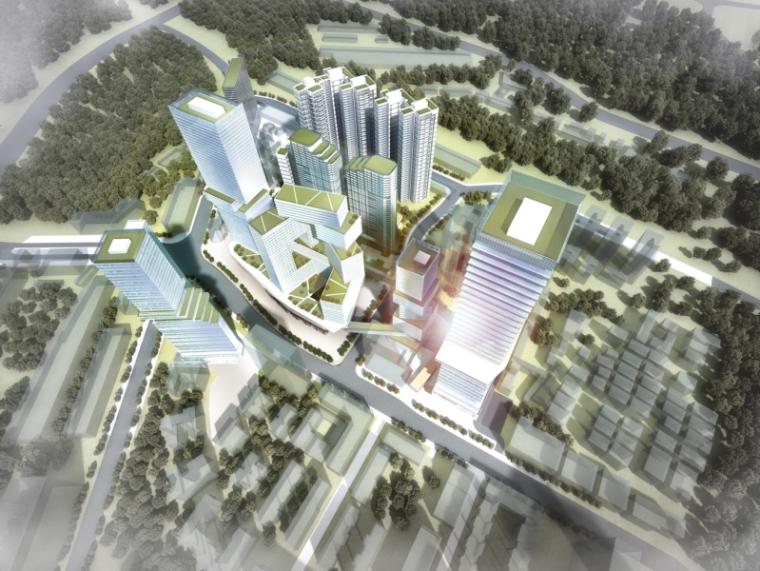 深圳田心村城市改造概念设计方案汇报文本