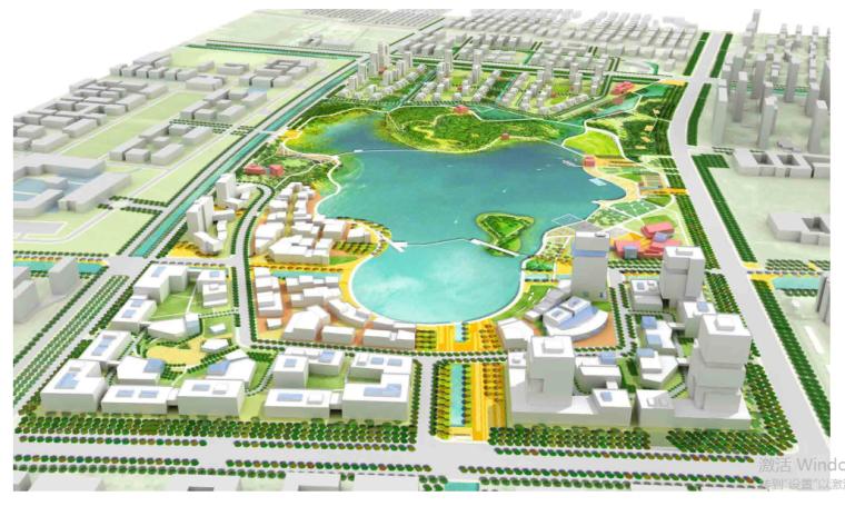 阳澄湖科技园概规城市设计修规SASAKI同济