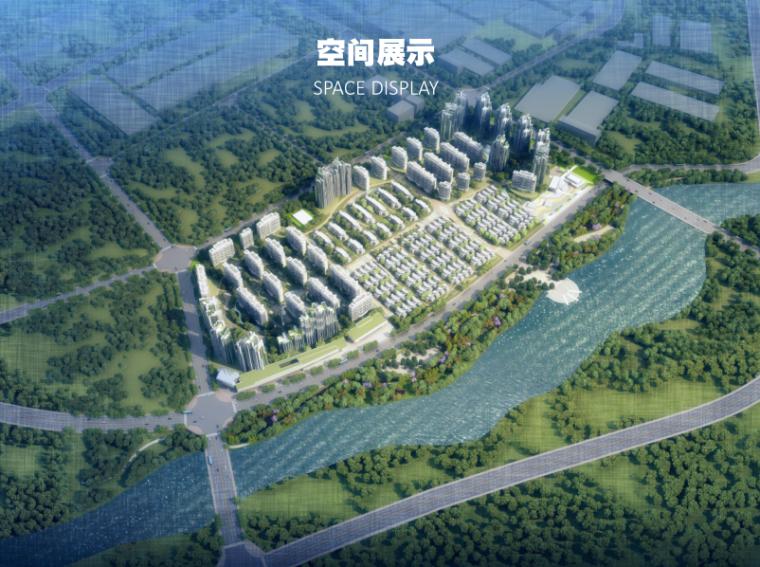 成都天府新区洋房+联排+合院项目投标方案-空间展示3