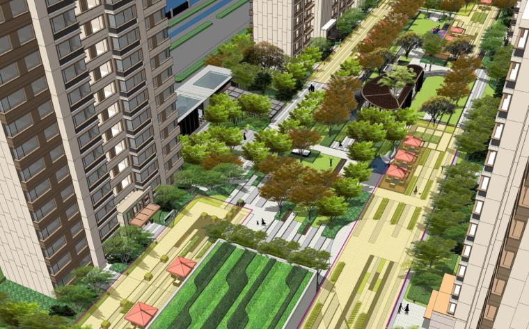 [山东]仁恒住宅景观设计深化方案