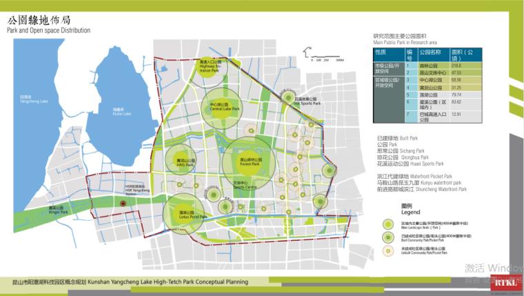17-阳澄湖科技园概念规划-公园绿地布局
