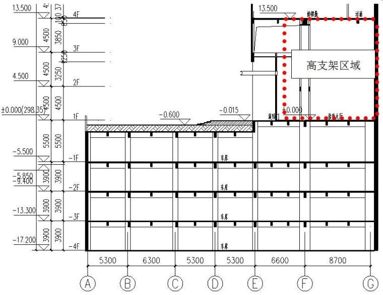 塔楼入口大厅高大模板支架安全专项施工方案