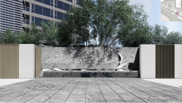 [上海]现代风格壹号院住宅景观汇报文本