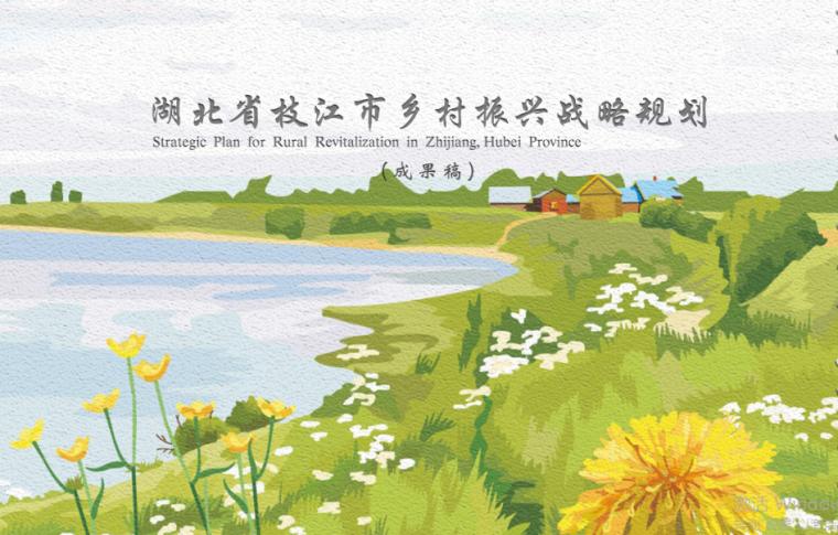 2018湖北省枝江市乡村振兴战略规划成果