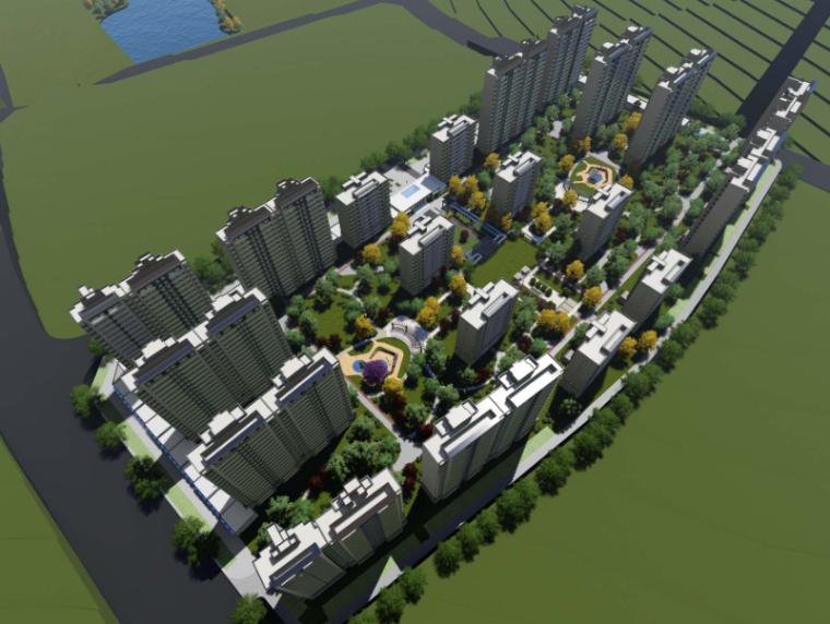 延安万达城地块销售物业建筑方案及深化设计