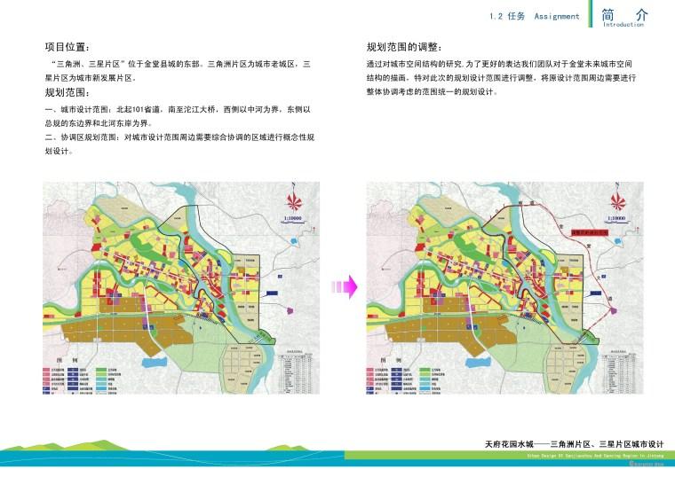 景观常规分析图+上位规划、项目概述