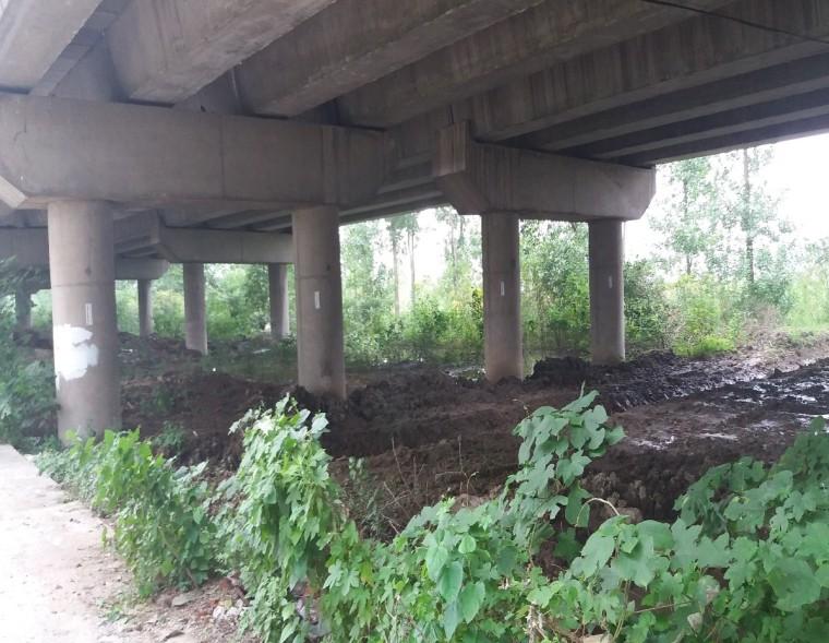地铁盾构侧穿高速公路桥桩施工方案