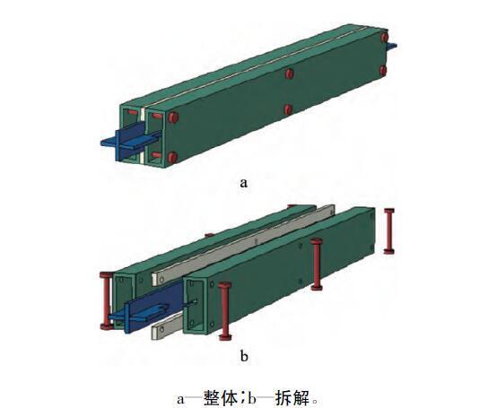 一字形全钢装配式防屈曲支撑有限元分析