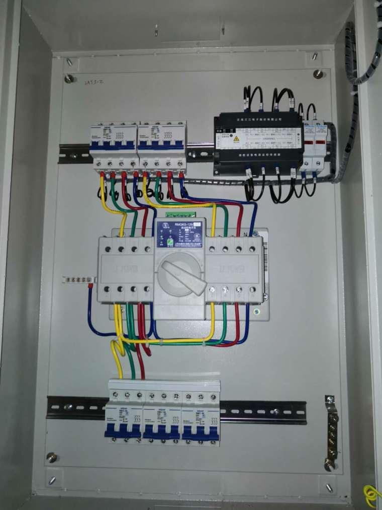 每日一贴20200228请教配电箱实物图与设计系