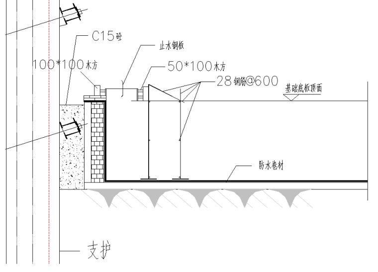 多栋高层塔楼项目木模板施工方案-底板模板