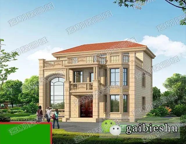 三层农村自建房设计图建筑结构水电齐