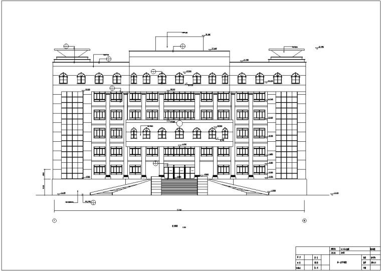 框架法院办公楼毕业设计(含计算书,图纸)