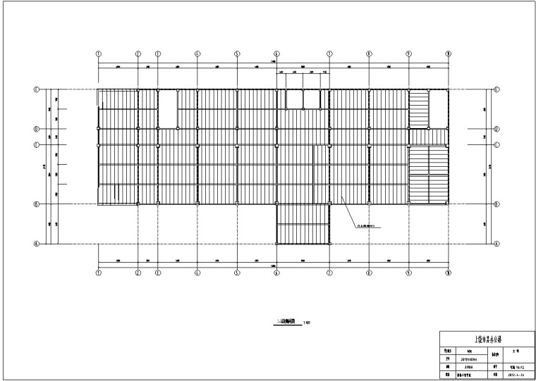 钢框架结构办公楼毕业设计(含计算书等)