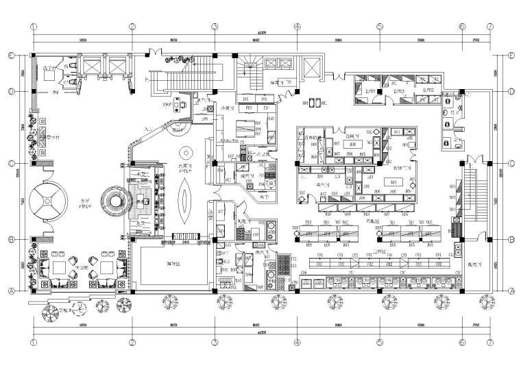 BREEZE&MOON酒店室内装饰设计工程施工图