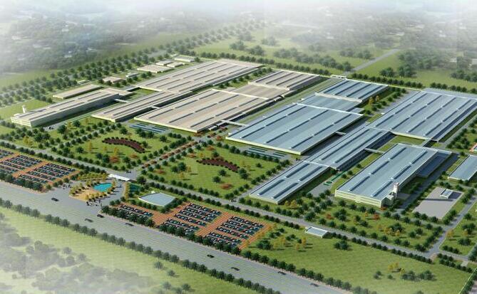 9.3万钢结构工业厂房项目BIM汇报ppt