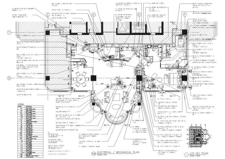 [武汉]HBA_RENAISSANCE酒店客房装饰施工图