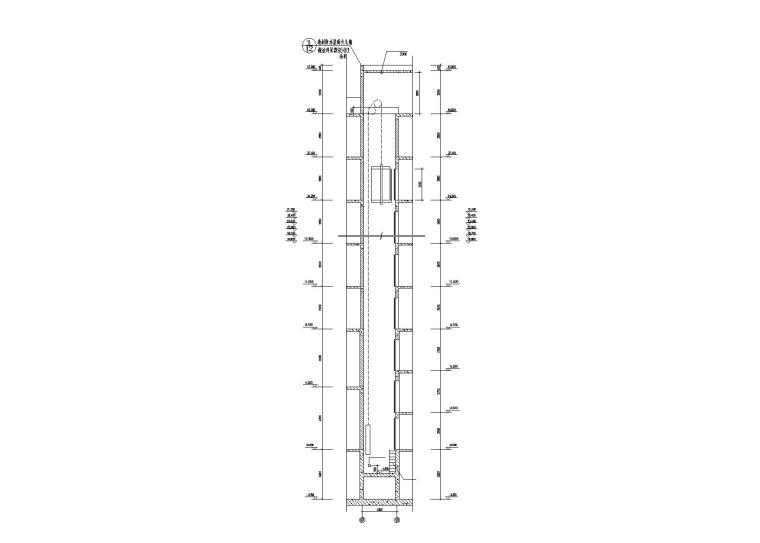 大院设计楼梯与电梯节点施工图