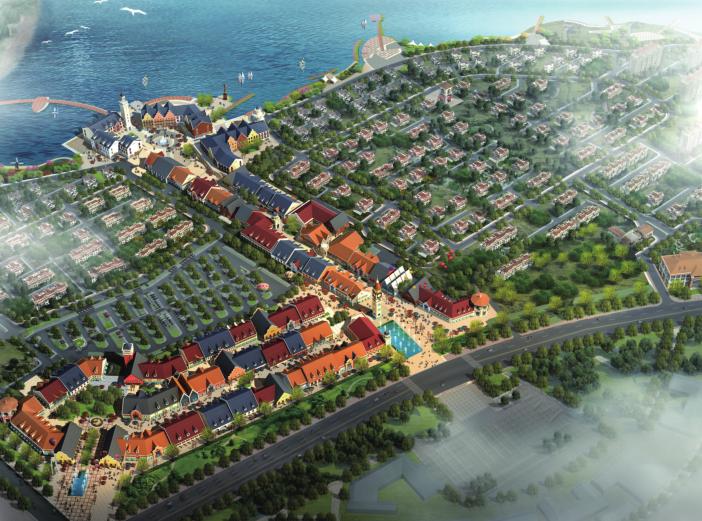 胶州欧洲镇奥特莱斯项目规划设计方案文本
