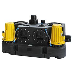 污水设备问题资料下载-地下室商业场所污水提升设备