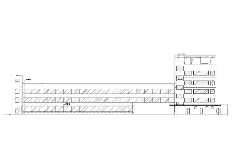 浦东新区传染病医院设计建筑施工图(含水电)