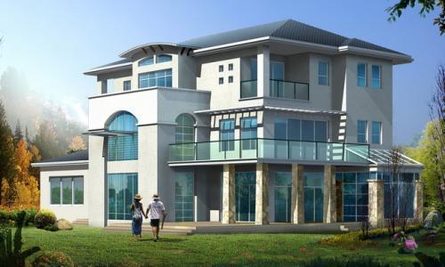 三层别墅建设工程图纸及工程量清单