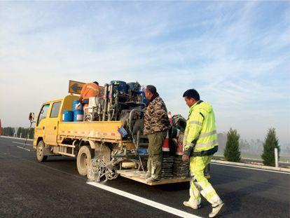 高速公路快速养护标线系统探索与实施