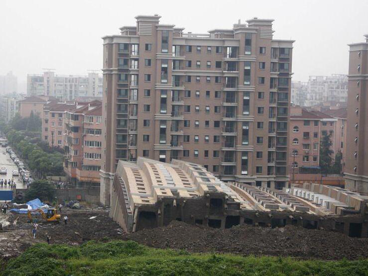 《建筑桩基技术规范》JGJ94-2008讲义-事故发生现场