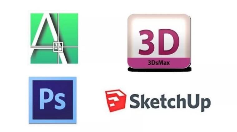 家装效果图设计领域好用的软件整理