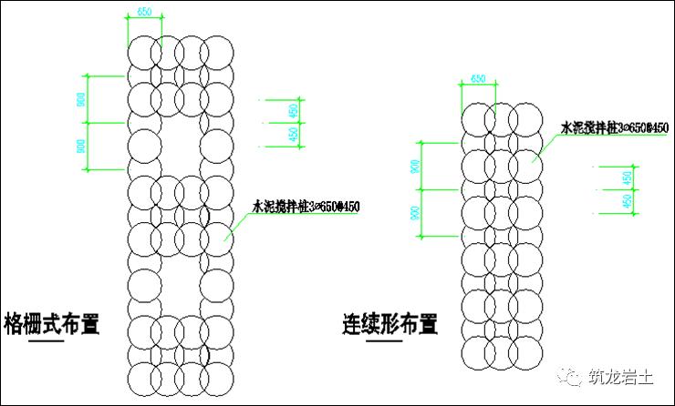 常见基坑支护结构图及实景图解说!_13