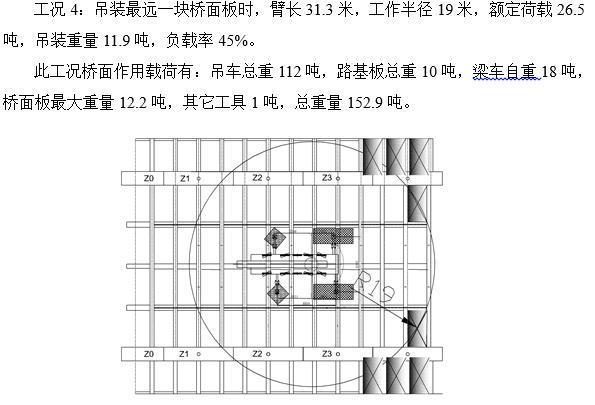 混合式结合梁斜拉桥汽车吊悬臂吊装施工工法