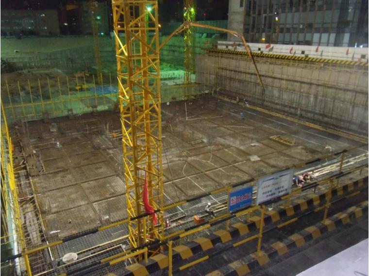 控制地下室外墙防水施工质量(2016)-一次浇筑高度过大