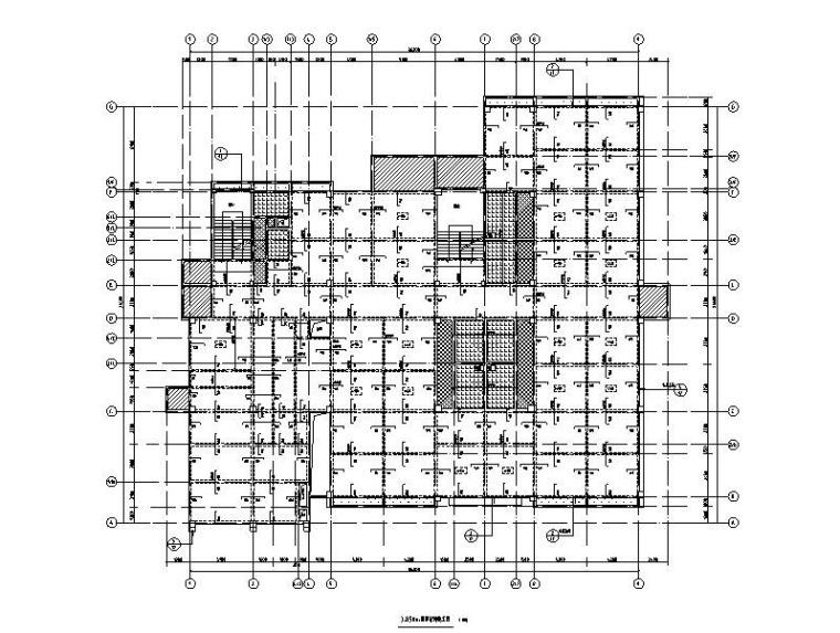 3层框架结构幼儿园结构施工图_含建筑2019