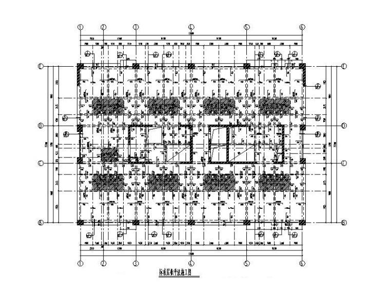 标准层板平法施工图