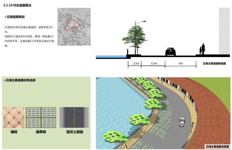 沿湖道路规划