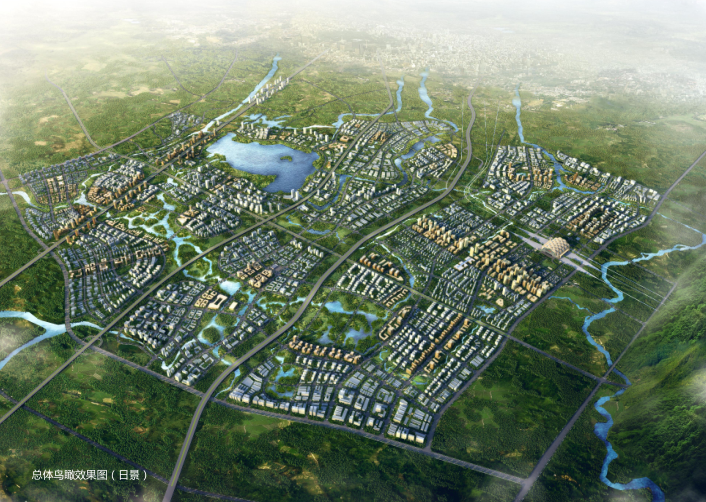 成都科学城总体城市规划设计方案文本