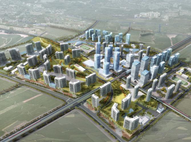 深圳城市轨道交通沿线地块TOD规划设计方案