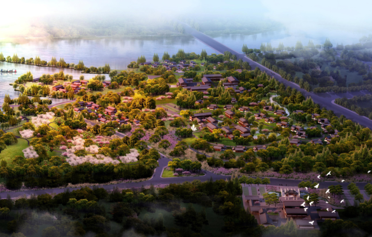 [安徽]生态田园文化旅游区总体规划设计