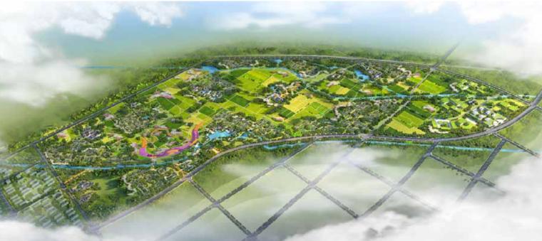 [安徽]田园综合体总体策划及概念规划