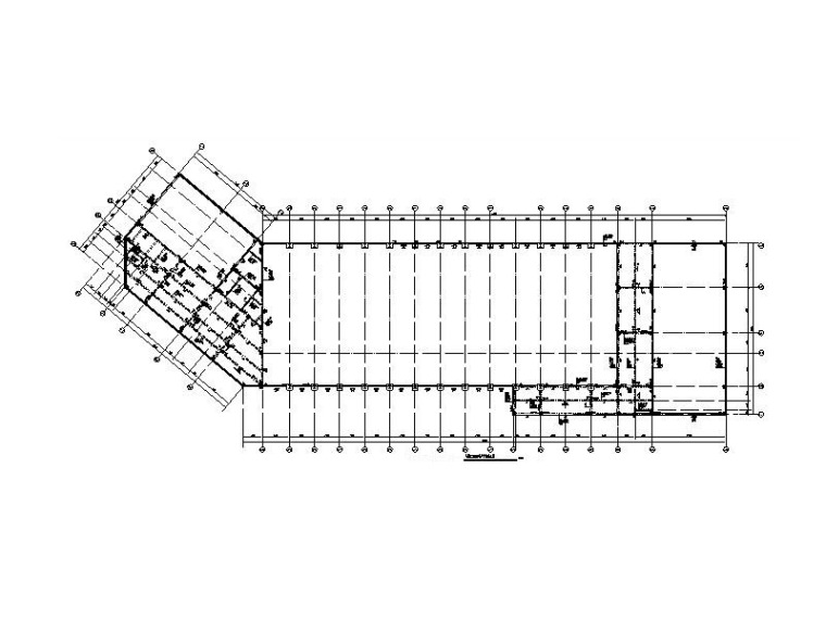 体育健身中心框架结构施工图含计算书地勘等