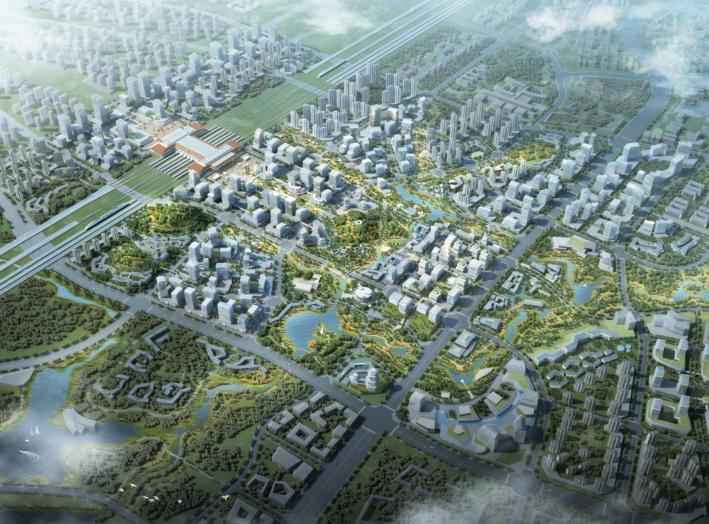 贵安TOD导向高铁综合交通枢纽城市设计文本