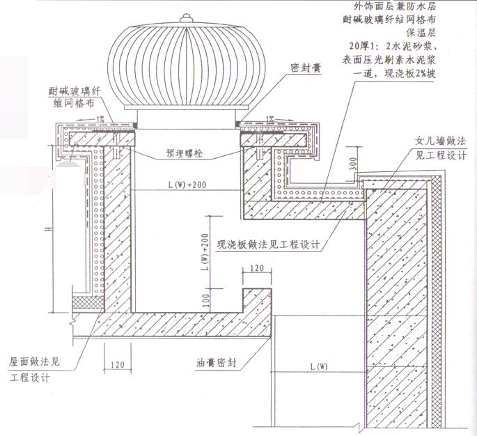 框剪结构商业高层住宅工程烟道安装施工方案