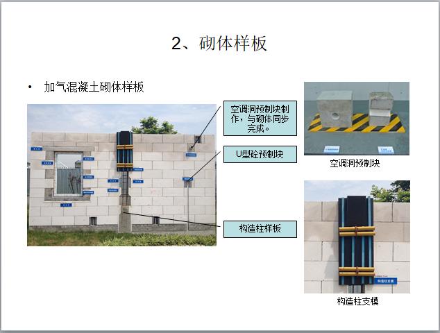 住宅楼工程样板引路施工作业指导书